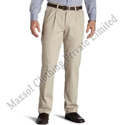 Wrinkle Free Pleated Trousers