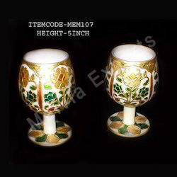 Modern Marble Goblets