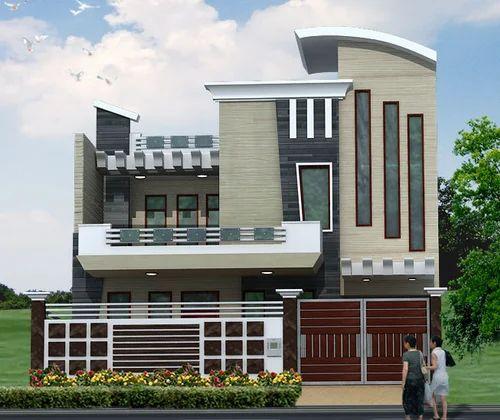 3d Building Elevation 3d Front Elevation: 3d Elevations Service & WallPaper Manufacturer From Faridabad