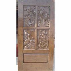 Hand Carved Modern Doors
