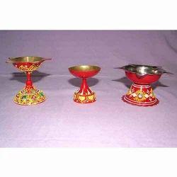 Conwork Brass Puja Diya