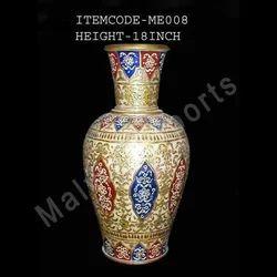 Marble Flowers Vase