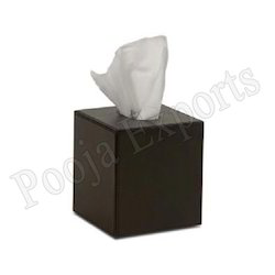 Leather Tissue Box