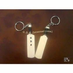 Mini Cricket Bat Key Chain