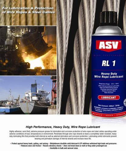 Wire Rope Lubrication - View Specifications & Details of Cable ...