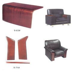 Wooden Sofa Chair for Restaurant and Clubs, Size/Dimension: Standard