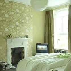 Decorative Green Wall Covering