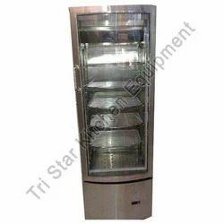 Stainless Steel Vertical Glass Door Refrigeration System