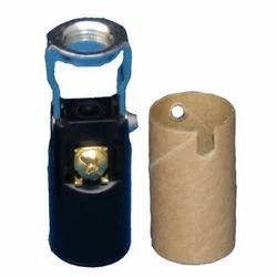 E-12 Phenolic Candelabra Lamp Holder Double Hickey
