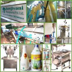 Aloe Vera Powder Manufacturing Machinery