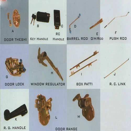 Door Locking Assembly Tata 709 Locking Assembly