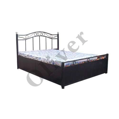 Oliver Wrought Iron Storage Bed