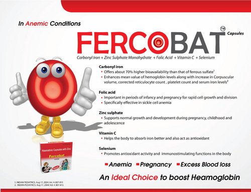 Fercobat - View Specifications & Details of Pharmaceutical
