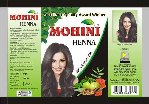 Mehndi Henna For African Hair : Mohini henna powder sojat tajmahal mehandi