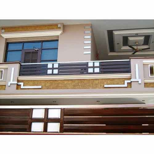 Design Elevation Of Front Parapet Wall : Parapet grill steel grills mithapur road jalandhar