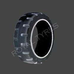 Mold-on Wheel Tyres