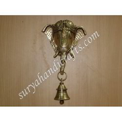 Brass Ganesh Ji Door Bell