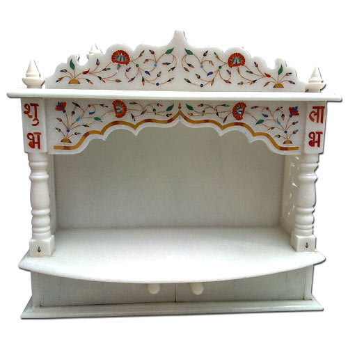 Marble mandir decorative marble temple manufacturer from mumbai for Marble temple designs for home