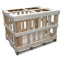 Wood Rectangular Wooden Crates, For Industrial