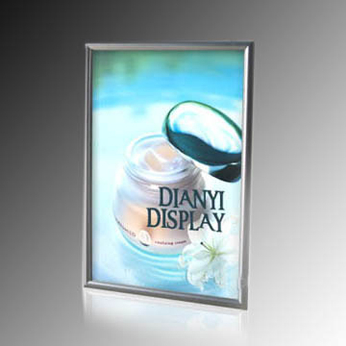 Slim Aluminum Clip On Led Backlit Frame Rishi