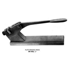 Plate Bending Press