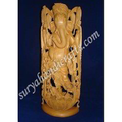 Wooden Ganesha With Sandalwood