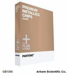 Arham English Pantone Premium Metallic Coated Chip Book