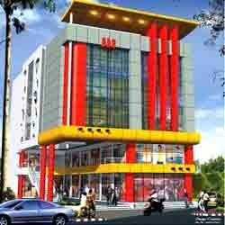 Commercial building design in nagpur for Commercial building design software