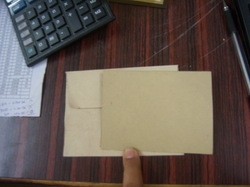Natural Paper Card And Envelopes