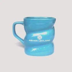 Square Twisted Designer Mug