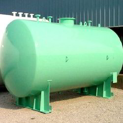 Dish End Storage Tank