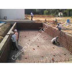 Steel Bar Reinforcement Work