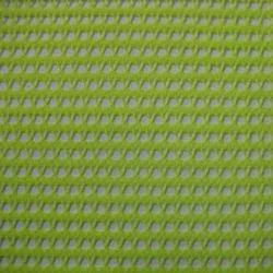 Green Polyester Warp Knit Mesh Fabrics