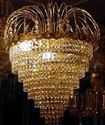 Glass Beaded Chandelier
