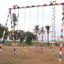 Multiple Playground Swings (Medium)
