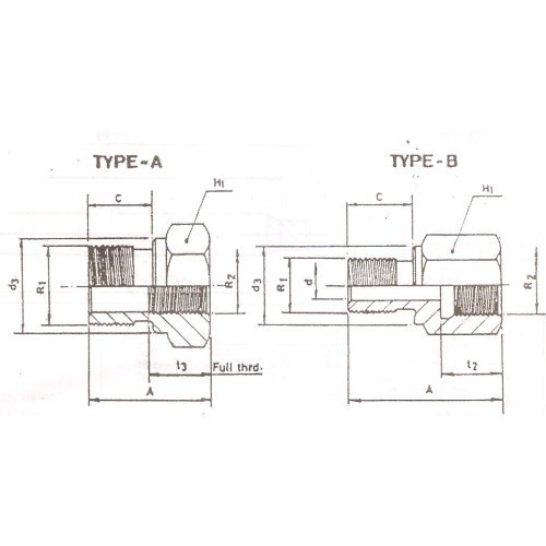 View Specifications Details: Male/Female Reducing Adaptor