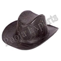 Leather Hip Hop Hat