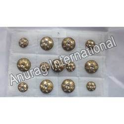 1 Hole Sherwani Buttons