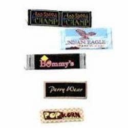 Tubular Damask Labels