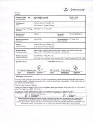 Test Report for MNRE Specifications