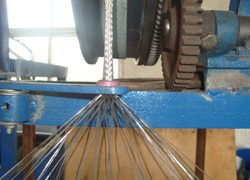 Process of Glass Wire