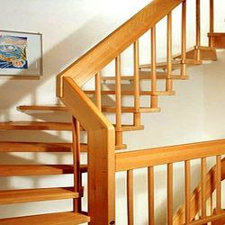 Designer Wooden Railing