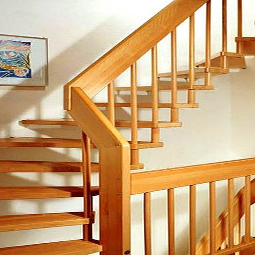 Designer Wooden Railing, Staircase, Balusters And Stair