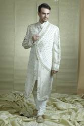 Fashionable Embroidered Sherwani