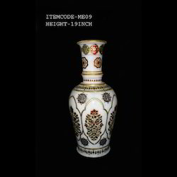 Gold Embossed Marble Vases