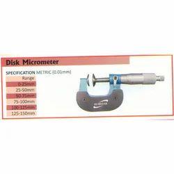 Disk Micrometer (Range 100-125mm)