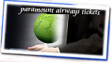 Domestic Air Tickets-Paramount Airways Tickets