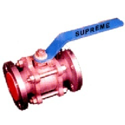Ball Valve Type Flanged End