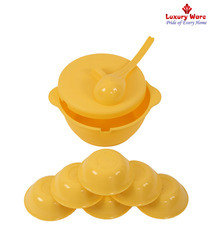 Yellow Pudding Set