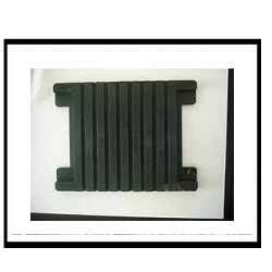Grooved Rubber Plates